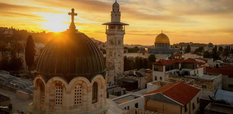 Join Ashley & John Noronha for an inspirational tou Israel: A Journey to the Holy Land